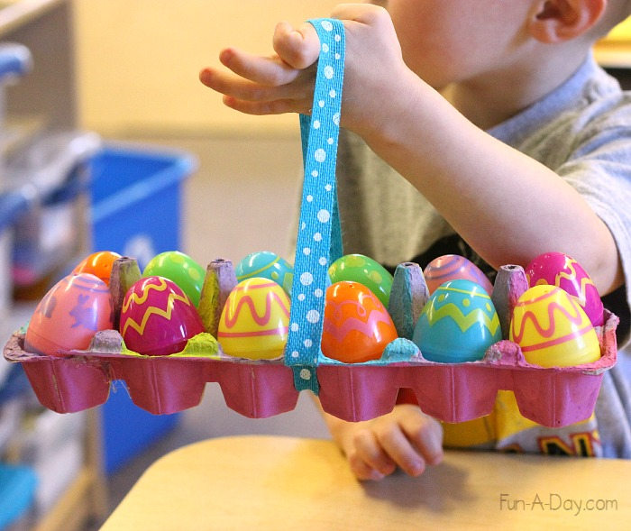 Homemade easter baskets for kids to make and use creative learning homemade easter baskets for kids to make and use negle Image collections